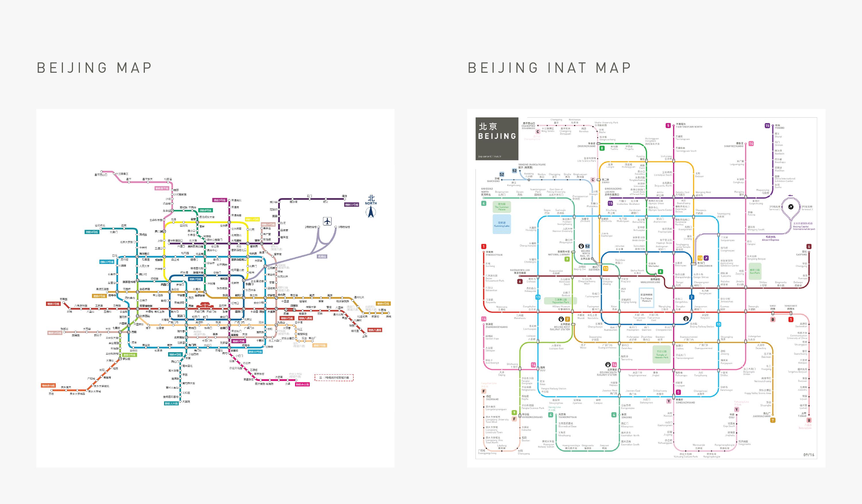 beijing metro subway map comparison