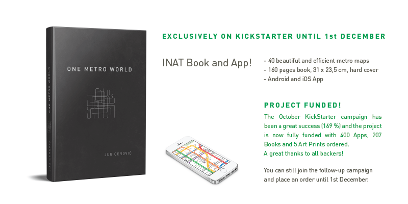 One Metro World Book Kickstarter