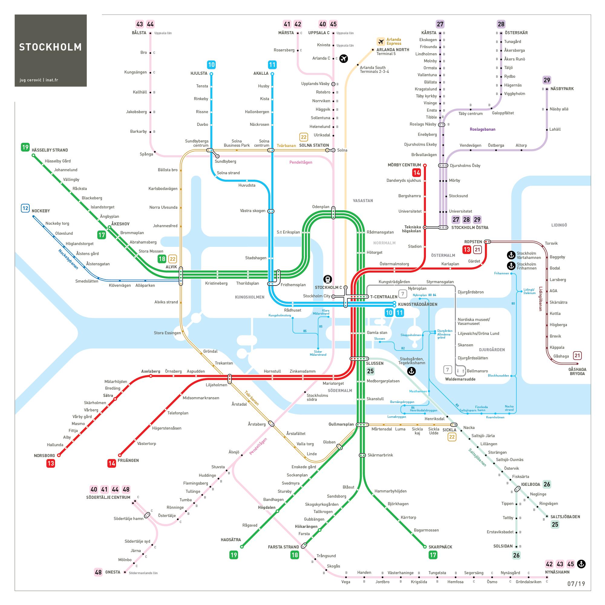 Montrela Subway Map.Maps Inat