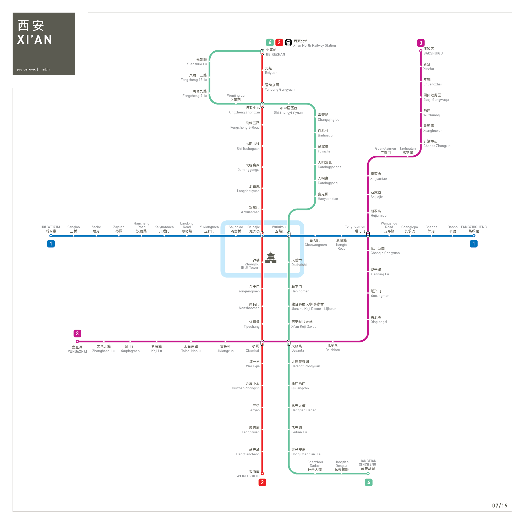 Subway Map Of Copenhagen.Maps Inat